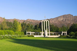 Huguenot Monument and gardens, South Africa